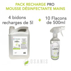 "Pack ""PRO"" recharge Mousse..."