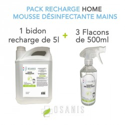 "Pack ""HOME"" recharge Mousse..."