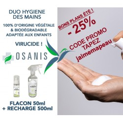 Duo Hygiène des mains OSANIS